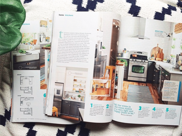 The Inspired Room BHG Kitchen Feature 2014