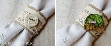 Cute DIY Napkin Rings