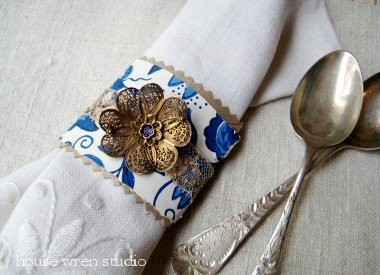 DIY Napkin Ring Ideas and Crafts
