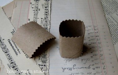 DIY Napkin Ring Tutorial