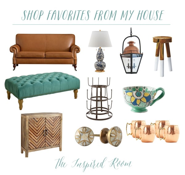 Shop Favorites from The Inspired Room