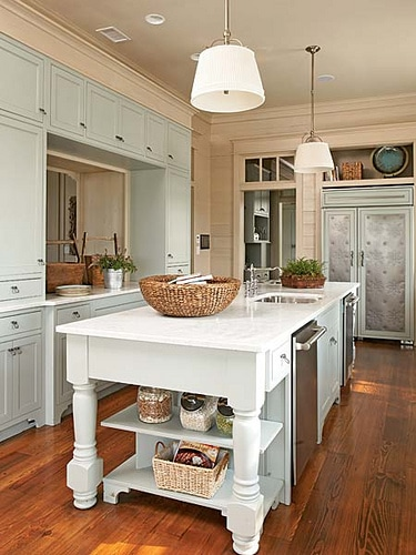 kitchen inspiration pale blue