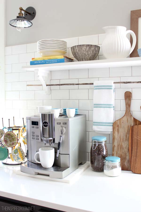 Summer Kitchen Display from The Inspired Room