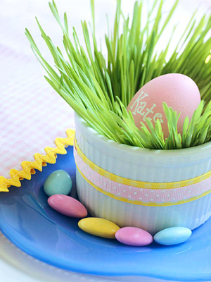 Easter: Centerpieces & Placecards