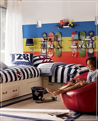 Rooms Decorations For Skateboarders