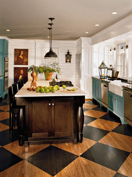 Observation: Checkerboard Kitchen