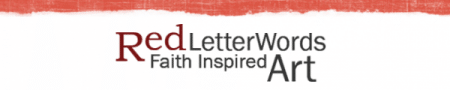 Red Letter Words Banner