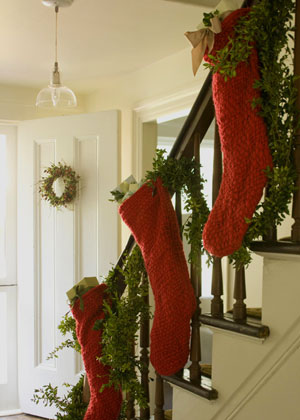 Take a gander at these ideas to creatively hang your stockings and be inspired—because a home without a mantel doesn't mean a home without Christmas spirit. And if you're lucky enough to have a mantel, I have included plenty of fresh ways to display your family's stockings while they wait for Mr. Claus to swing by on Christmas Eve!
