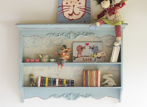 Creating a Memory Shelf <br> for Children {or Yourself!}
