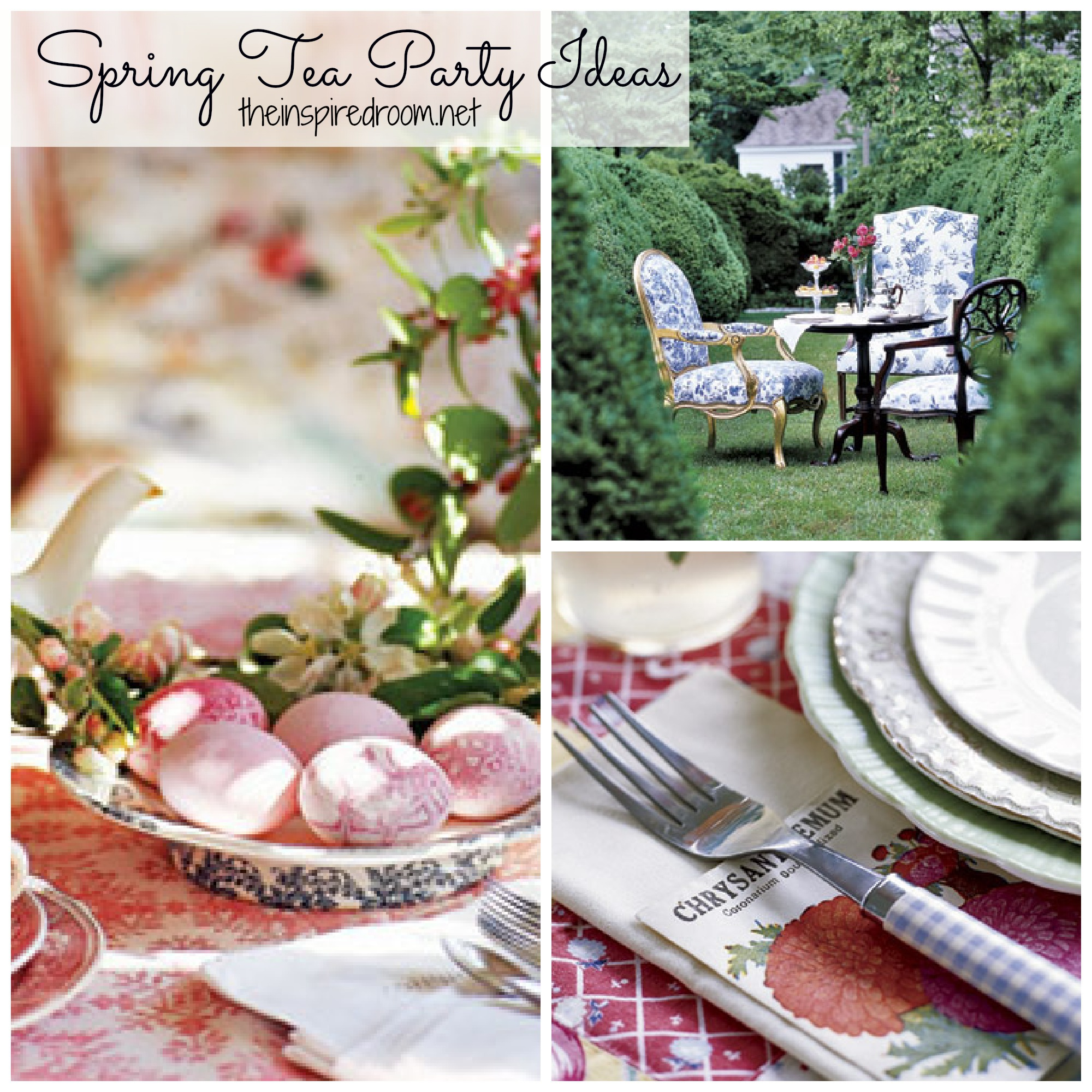 Spring Time Tea Parties Sweet Ideas The Inspired Room