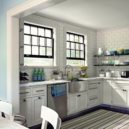 White Kitchens I Love {5 Take Away Tips}