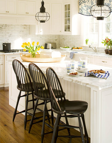 White Kitchens I Love {5 Take Away Tips}