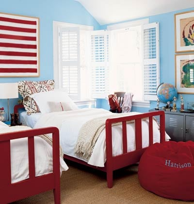 Children's Bedrooms: Sharing Space