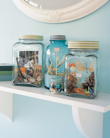 Vacation & Keepsake Memory Jars