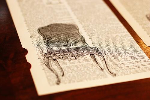 DIY: Dictionary Art