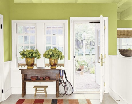 Decorating With A Little Hint of Mint {Spring Green}