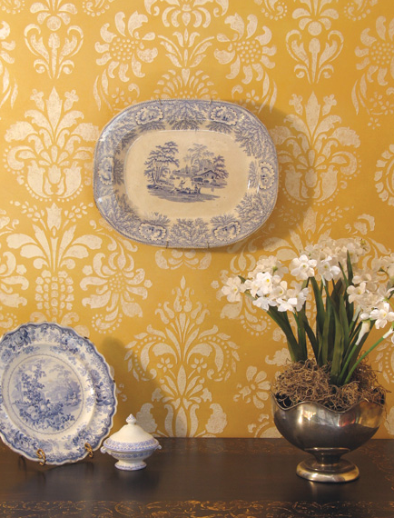 Hand Stenciling & Faux Finishes