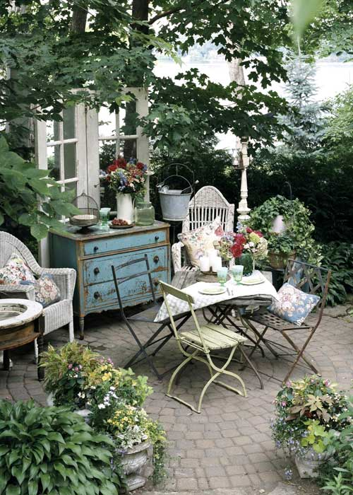 Inspired By: Charming Patio Spaces