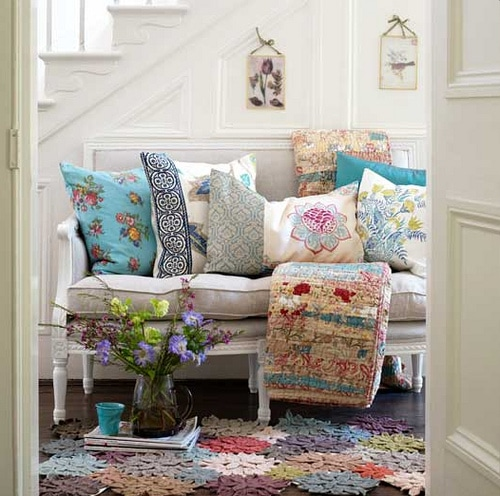 Inspired by decorating a hallway cottage hallways the Decorating your home shabby chic cottage style