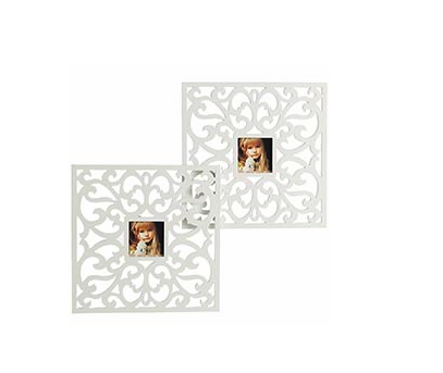 DIY: Lattice Cutout Mirrors