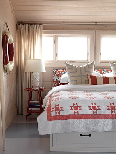 how to decorate bedroom beach house