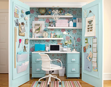 Inspired Room craft closet