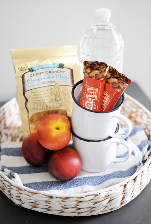 Guest Room Snack Tray