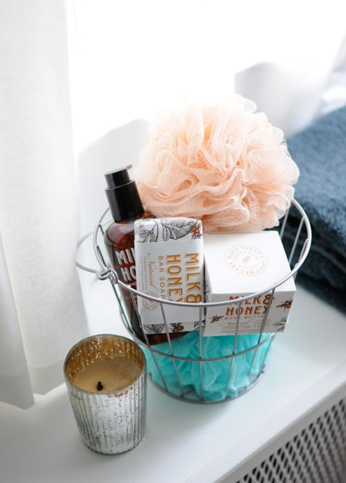 Thoughtful Guest Room Basket