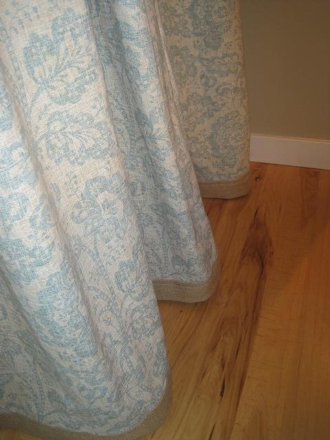 DIY $30 Custom Designer Curtains!