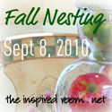 fall nesting button