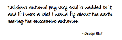 fall-quote-george-eliot