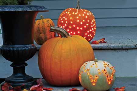31 days of autumn bliss day 16 chic pumpkins the Unique pumpkin decorating ideas