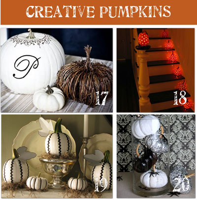 31 Days of Autumn Bliss {Day 19}: <br>Inspiring Ideas & Fall Projects