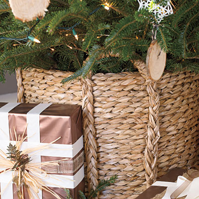 creative christmas trees stands - Decorative Christmas Tree Stands