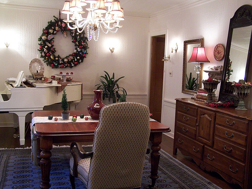 Christmases Gone By: Dining Room