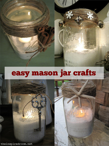DIY Glitter Snow for Candles & Mason Jar Filler