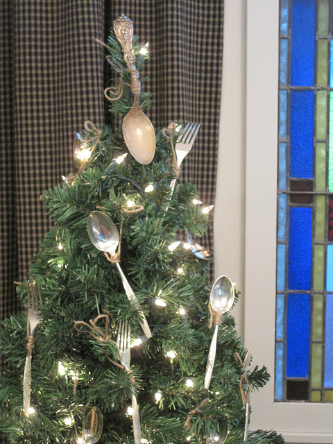 The Dining Room Humble Silver Spoon Tree