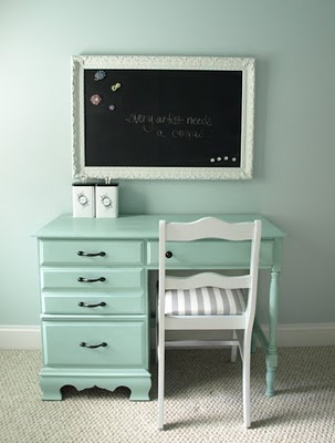 Inspiring Idea:: How to Make a Magnetic Chalkboard