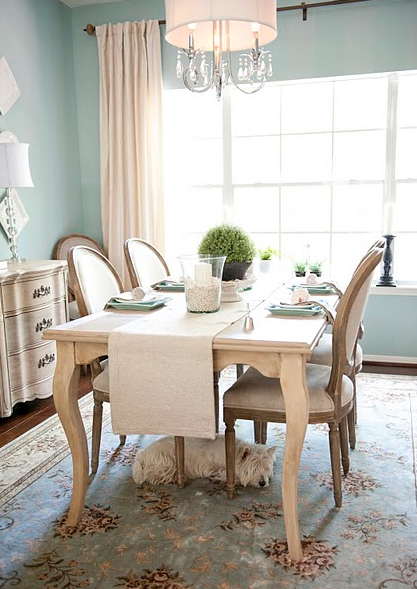 Dining Room Makeover {Amanda Carol At Home}