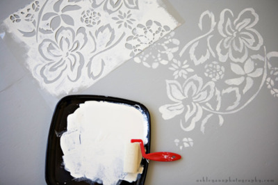 Creativity Out of Imperfection: {Painting Subfloors}