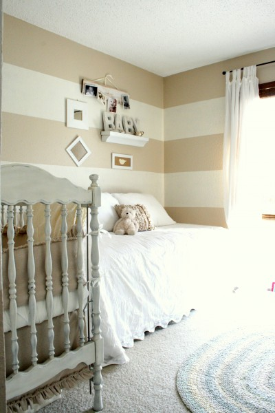 Colors  Baby Rooms on Striped Neutral Baby   S Room  The Virginia House