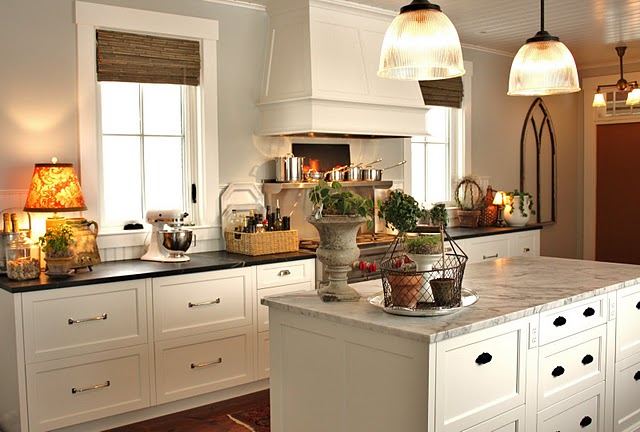 For the Love of A House's Gorgeous Kitchen!