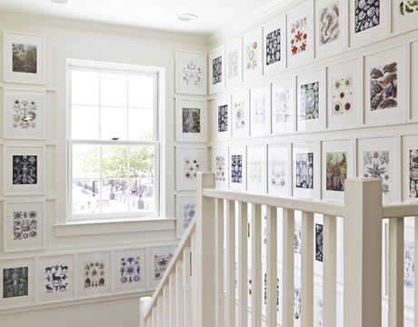 Gallery Walls {Inspiration Pictures & A Linky Party!}