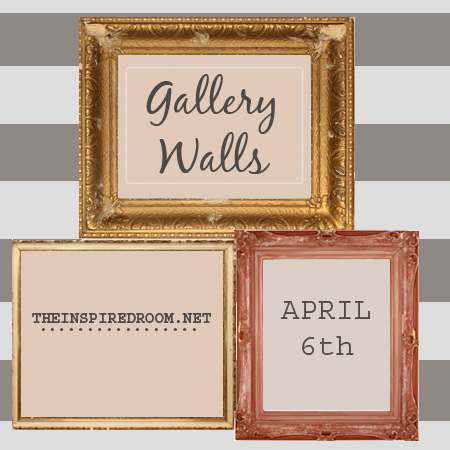 Gallery Wall Linky Party Announcement and DaySpring Winners!