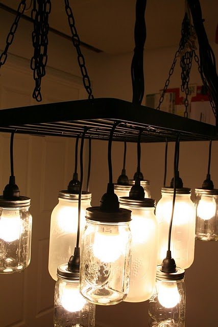 How to Make a String Ball Chandelier {diy light} – TipJunkie