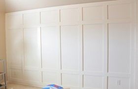 Paneled Wall How To Decor Chick