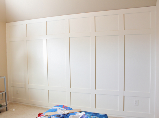 Wall Panel Decor diy: wall paneling stepstep {decor chick} - the inspired room