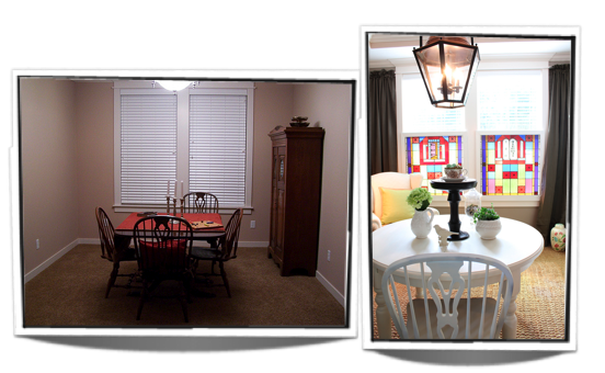 "The Dining Room Progress Update: The ""Before & So Far""!"