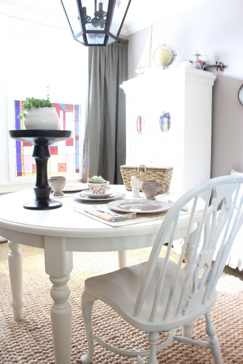 """The Dining Room Progress Update: The """"Before & So Far""""!"""