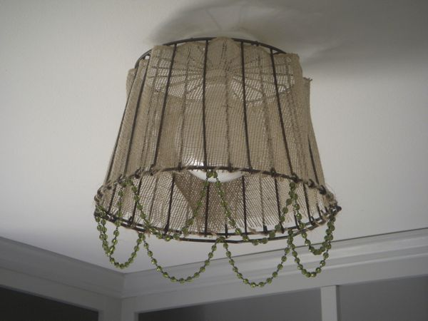 Great A DIY Clam Basket Lamp Shade! {My Hydrangea Home}